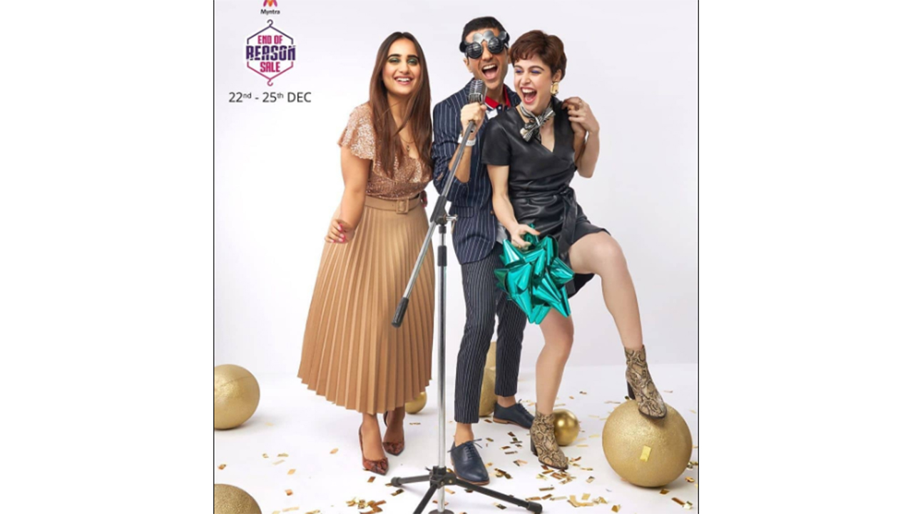 A campaign shot by Myntra