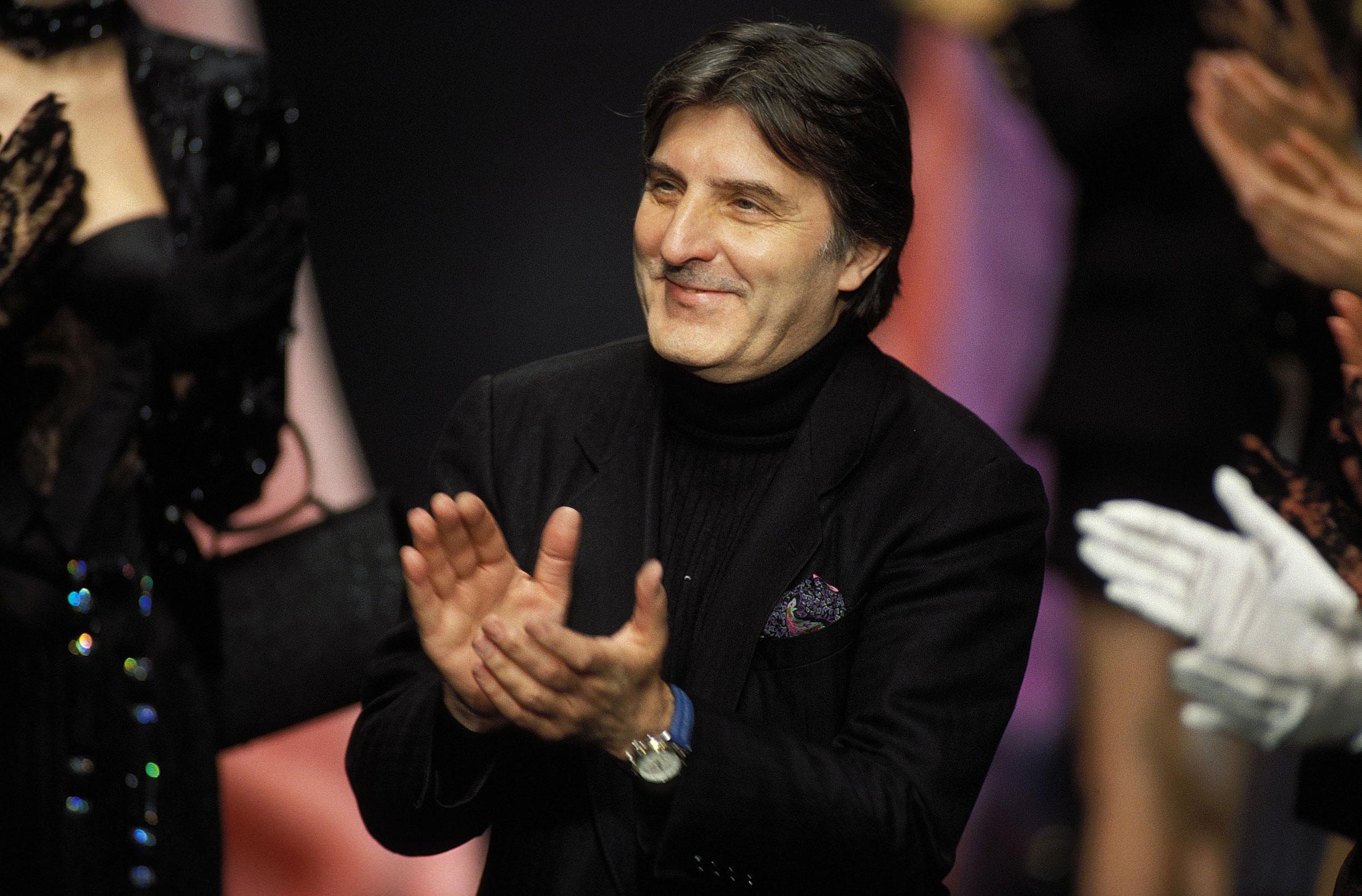 Emanuel Ungaro French Fashion Designer has Died Aged 86