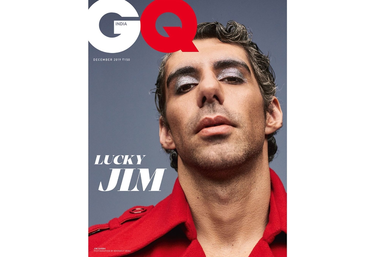Jim Sarbh's non-binary avatar on GQ India's December cover