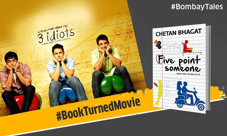 "Journey from ""Five Point Someone"" to ""3 idiots""; losing Bhagat in the way"