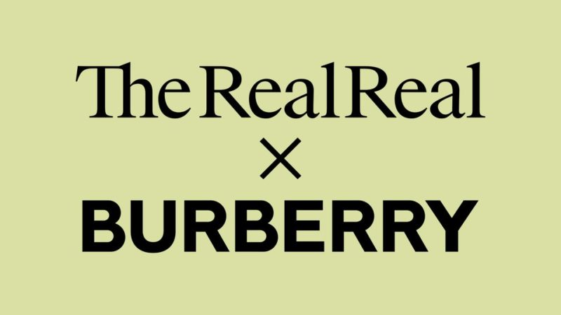 "Burberry launches sustainable collection ""ReBurberry"" for Spring-Summer 2020"
