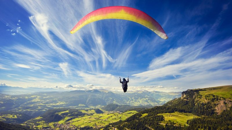 List of most popular & best paragliding spots in India