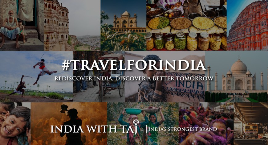 #TravelForIndia: IHCL launches marketing campaign to encourage secure journey in India