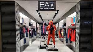 The brand new EA7 Emporio Armani store in Select CITYWALK Mall in New Delhi