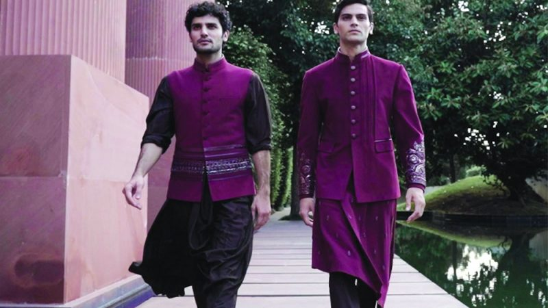 Indian Couture Fashion week : Shantanu and Nikhil showcase their new collection Resurgence