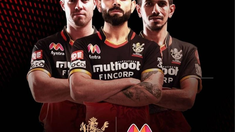 Myntra partners with Royal Challengers Bangalore to promote fashion during IPL 2020
