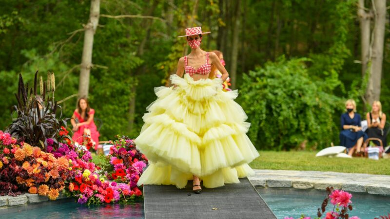 A BACKYARD RUNWAY by Christian Siriano