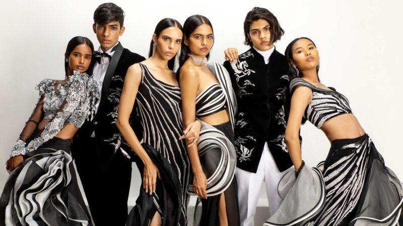 "Gaurav Gupta kickstarts India's first digital fashion week with his collection ""Name of Love"""