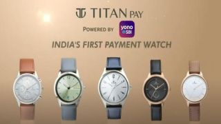 SBI and Titan launch India's first contactless payment watches