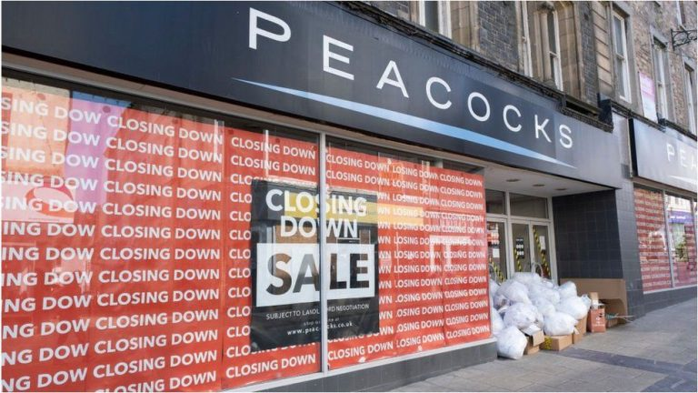 Peacock, Jaeger faces closure amid falling retailing sector, puts nearly 5,000 jobs at stake